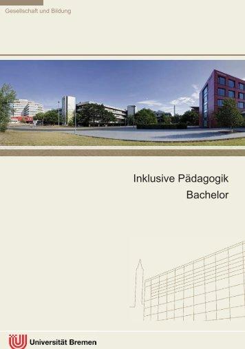 Bachelor Inklusive Pädagogik - Fachbereich 12 - Universität Bremen