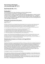 Lehrveranstaltungen im Wintersemester 2012/13 (PDF) - TU Dortmund