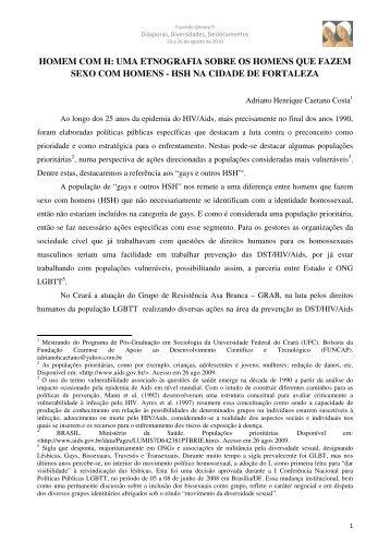 Adriano Henrique Caetano Costa - Fazendo Gênero