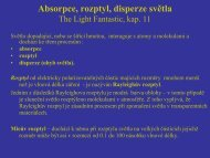 Absorpce, rozptyl, disperze světla.pdf - FBMI