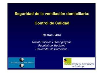 Descargar la presentación de Ramon Farré