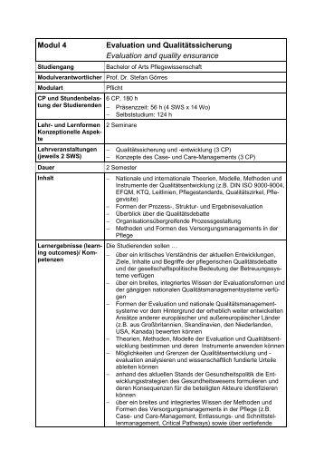Modul 4: Evaluation und Qualitätssicherung (application/pdf 10.9 KB)