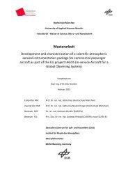 Masterarbeit - Fakultät 06 - Hochschule München