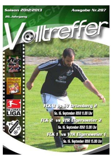 VFR Elgersweier - FC Kirnbach 1956 eV