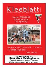 Ausgabe 11.qxd - FC Wegberg-Beeck 1920 e.V.