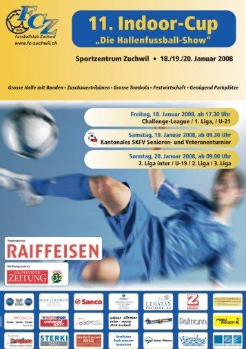 Programm 11. Indoor-Cup - FC Zuchwil