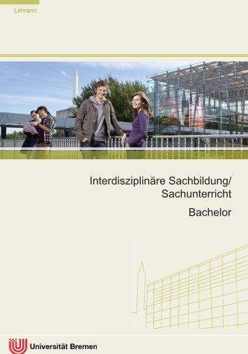 Sachunterricht - Fachbereich 12 - Universität Bremen