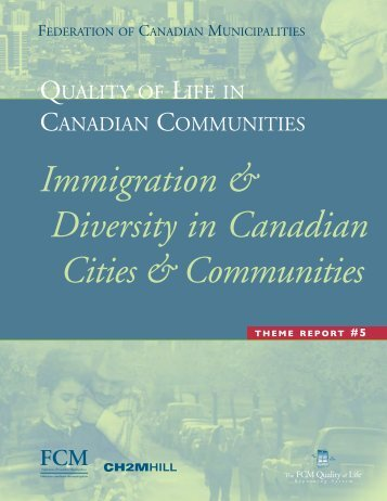 Immigration & Diversity in Canadian Cities & Communities - FCM