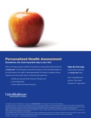 Personalized Health Assessment