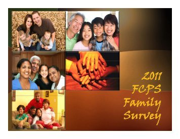 2011 Family Survey Results
