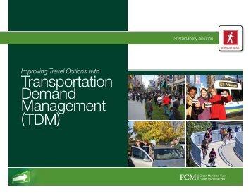 Transportation Demand Management (TDM) - FCM