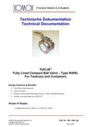 Technische Dokumentation Technical Documentation TUFLIN