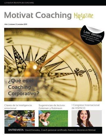 Motivat Coaching Magazine Núm.3-Año 2013