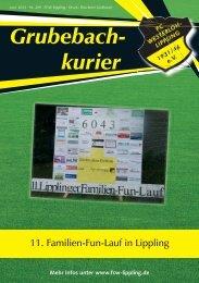 Grubebachkurier Nr. 209 - FC Westerloh-Lippling