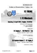 Heft 12 herunterladen - FC Töging - Seite 2