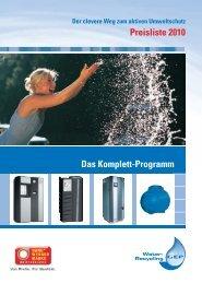 Preisliste 2010 Das Komplett-Programm - DEHOUST GmbH
