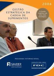 gestão estratégica da cadeia de suprimentos - Portal FDC