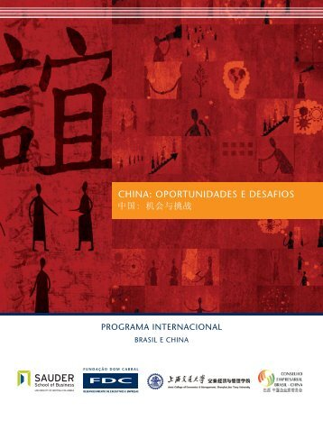 CHINA: OPORTuNIDADES E DESAfIOS