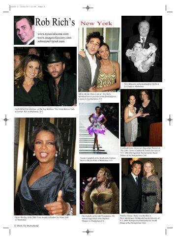 Rob Rich's - Black Tie Magazine