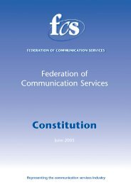 17982 - Constitution - Federation of Communication Services