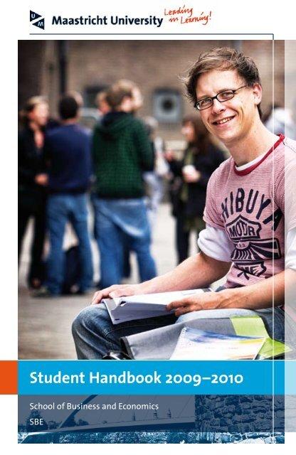 Student Handbook - School of Business and Economics - Maastricht ...