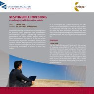 OBS4670 flyer Responsible Investing.indd - Maastricht University