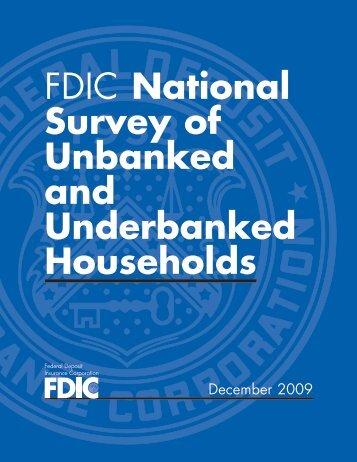 Read the Full Report - FDIC
