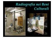 Radiografia nei Beni Culturali