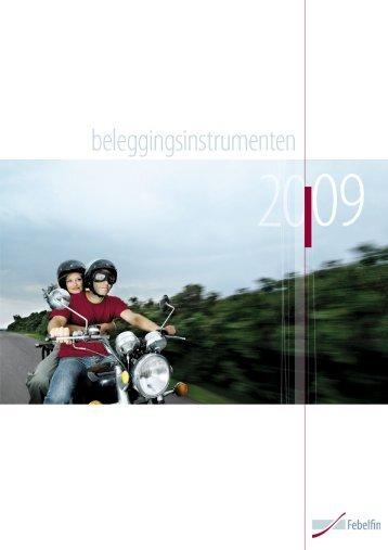 Beleggingsinstrumenten - Febelfin