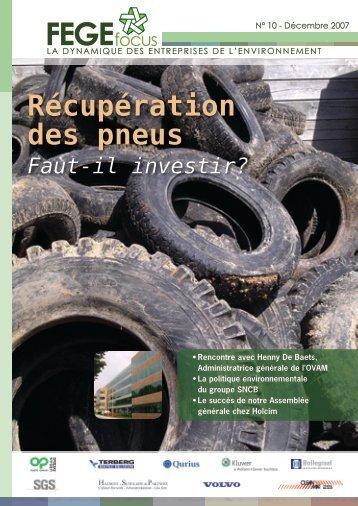 Récupération des pneus