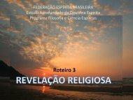 Roteiro 3 - Federação Espírita Brasileira