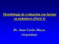 2-3 Metodologia Evaluacion Lactato Natacion Parte I