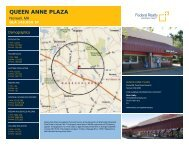 Queen Anne Plaza Lease Flyer