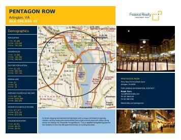 Pentagon Row Lease Flyer