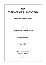 Essence of Philosophy