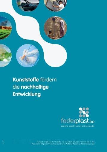 Kunststoffe fördern die nachhaltige Entwicklung - Federplast.be