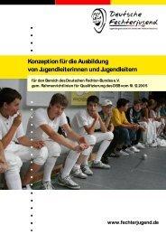 Konzeption für die Ausbildung von Jugendleiterinnen und ...