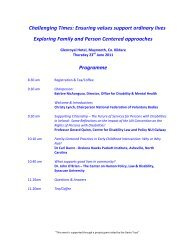 Programme available here - National Federation of Voluntary Bodies