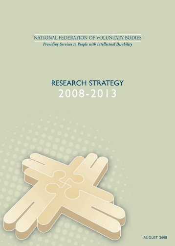 Research Strategy - National Federation of Voluntary Bodies