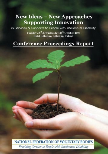 Conference Proceedings Report - Final Draft - National Federation ...