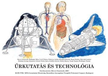 ŰRKUTATÁS ÉS TECHNOLÓGIA