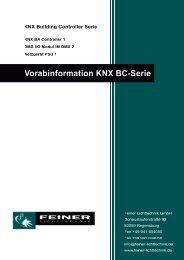 d_flt-knx-bcs_d.pdf - Feiner Lichttechnik GmbH