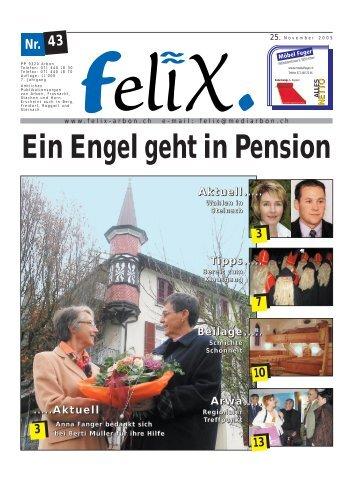 Ein Engel geht in Pension - Mediarbon - felix