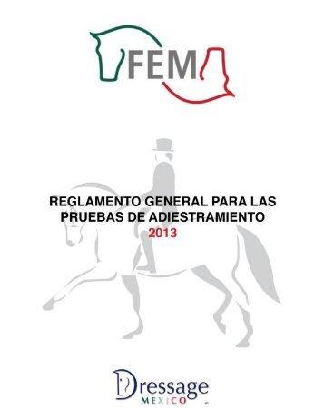 Reglamento General de Adiestramiento 2013 - Fem
