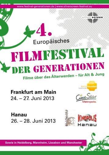 Programmheft 4. Filmfestival der Generationen - Frankfurt am Main