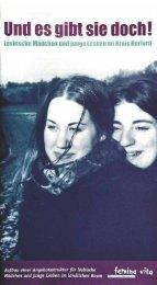 """Download des Flyer """"Lesbische Mädchen im ländlichen ... - femina vita"""