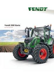 Fendt 500 Vario - AGCO GmbH