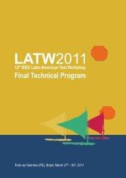 Final Technical Program - pucrs