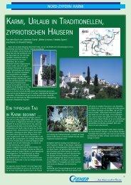 karmi, urlaub in traditionellen, zypriotischen häusern - Fener Reisen ...