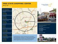 Free State Shopping Center Lease Flyer